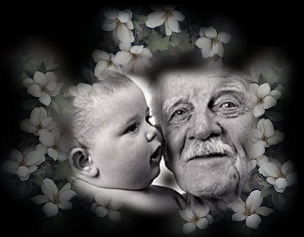 Auguri Matrimonio Dai Nonni : Il vecchio e bambino ma vi